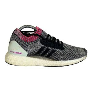 Adidas Ultra Boost Shock Pink Breast Cancer Shoes